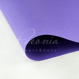 Папір Флористичний водостійкий листовий 54см*78см щільність 120г/м кв сніжок лавандовий