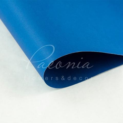 Папір Флористичний водостійкий листовий 60см*60см щільність 100г/м кв гладкий синій