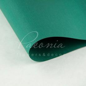 Папір для пакування квітів водостійкий щільний листовий дрібний гофре зелений 60см * 60см