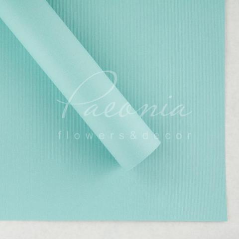 Папір Флористичний водостійкий листовий 60см*60см щільність 100г/м кв дрібне гофре мятний