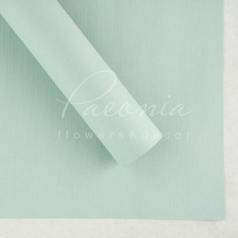 Папір Флористичний водостійкий листовий 60см*60см щільність 100г/м кв дрібне гофре світло-сірий