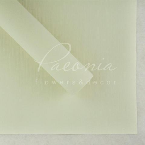 Папір Флористичний водостійкий листовий 60см*60см щільність 100г/м кв Мішковина білий