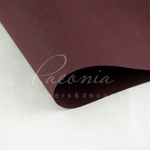 Папір Флористичний водостійкий листовий 60см*60см щільність 100г/м кв Мішковина винний