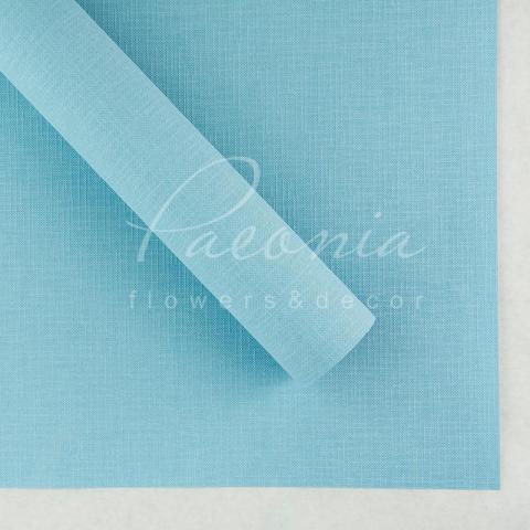 Папір Флористичний водостійкий листовий 60см*60см щільність 100г/м кв Мішковина блакитний