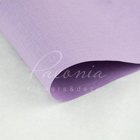 Папір Флористичний водостійкий листовий 60см*60см щільність 100г/м кв Мішковина лавандовий