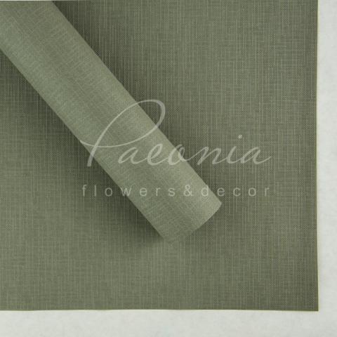 Папір Флористичний водостійкий листовий 60см*60см щільність 100г/м кв Мішковина оливковий
