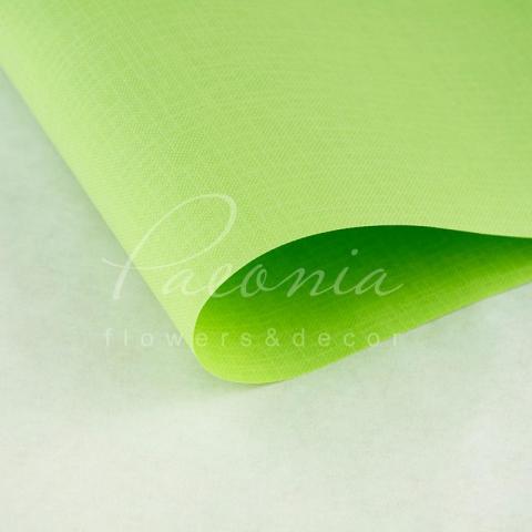 Папір Флористичний водостійкий листовий 60см*60см щільність 100г/м кв Мішковина салатовий