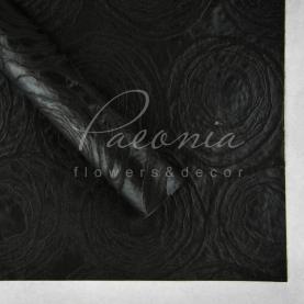 Флізелін водостійкий Круги чорний 1 лист 60 * 60см