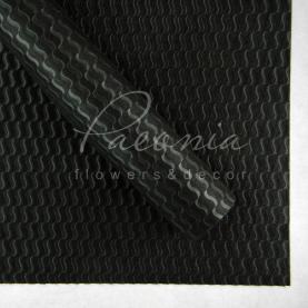 Флізелін водостійкий 60*60см пенопрен велика хвиля чорний 1 лист