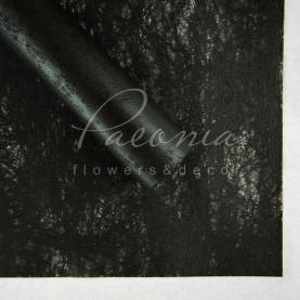Флізелін водостійкий з разводами чорний 1 лист 60 * 60см