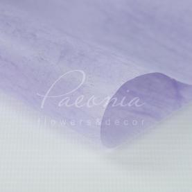Флізелін флористичний листовий тонкий лавандовий 60см * 60см