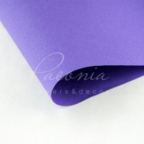 Папір Флористичний водостійкий листовий 60см*60см щільність 100г/м кв сніжок лавандовий