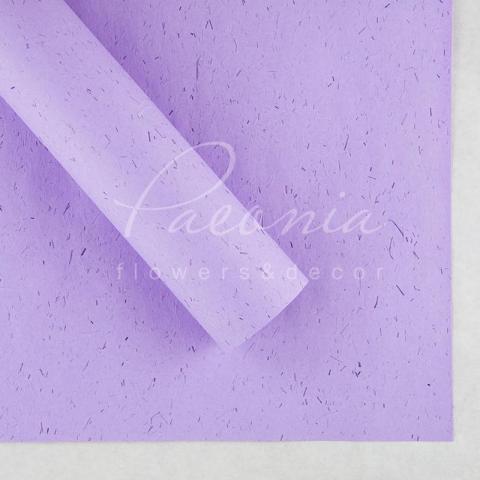 Папір Флористичний водостійкий листовий 60см*60см щільність 100г/м кв сніжок світло-лавандовий