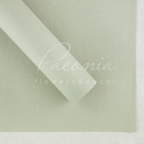 Папір Флористичний водостійкий листовий 60см*60см щільність 100г/м кв сніжок світло-сірий