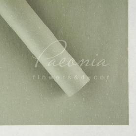 Бумага для упаковки цветов водостойкая плотная листовая снежок серая 60см*60см