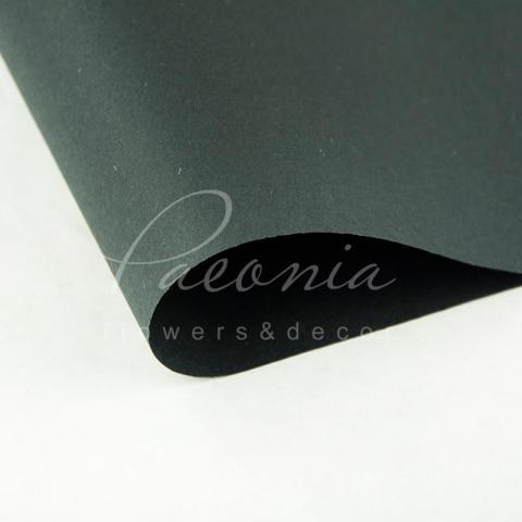 Папір Флористичний водостійкий листовий 60см*60см щільність 100г/м кв сніжок чорний