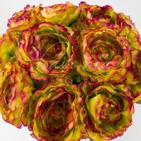 Квітка штучна Ranonkel бургуди 42 см