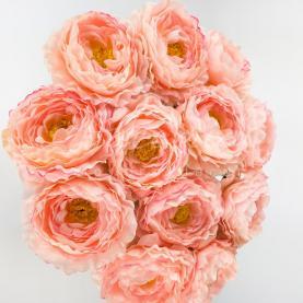 Квітка штучна Ranonkel рожевий 42 см
