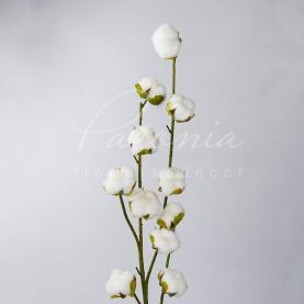 Квітка штучна бавовна 88см
