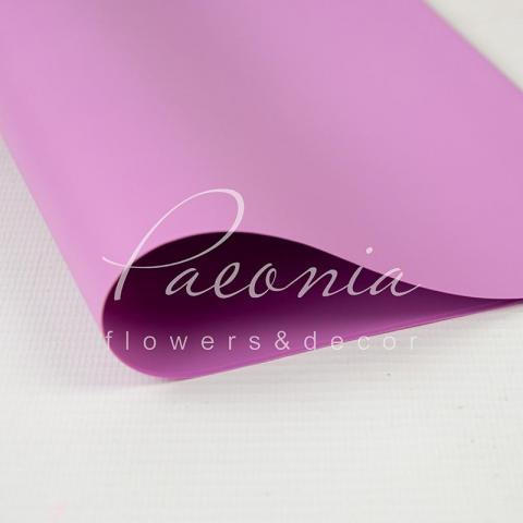 Калька флористическая 60*60см матовая розовая 1 лист