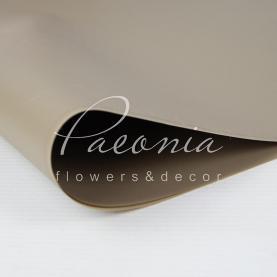 Калька флористична матова листова кавова 60см * 60см