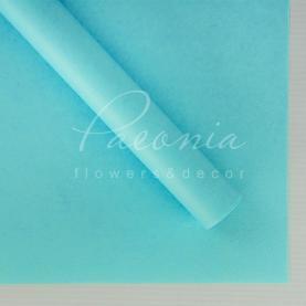 Калька Флористична листова 60см*60см матова щільна насыщенный блакитний