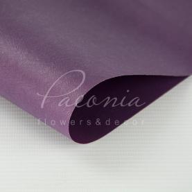 Калька флористична матова листова щільна фіолетова 60см * 60см