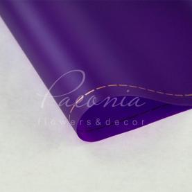 Калька флористична матова листова з кантом фіолетова 60см * 60см