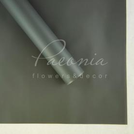 Калька Флористична листова 60см*60см матова темно-сірий