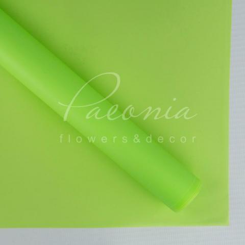 Калька флористическая Матовая пастель салатовый 60*60 1 лист