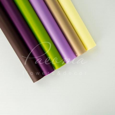 Калька флористическая Матовая пастель серый 60*60 1 лист