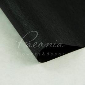 Калька флористична матова листова з відливом чорна 60 * 60