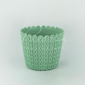 Кашпо пластиковое фисташковое NITLY DNY260L Ø18,8см h15,8см