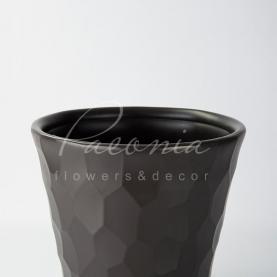 Кашпо пластиковое шоколадное ROCKA DBROC300 Ø29,3см h27,7см