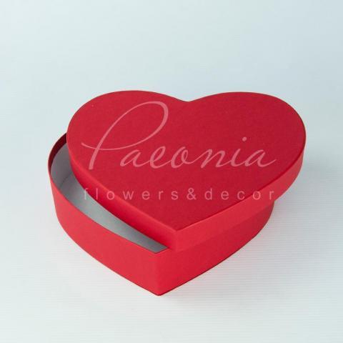Коробка сердце красная 25см*20см*10см