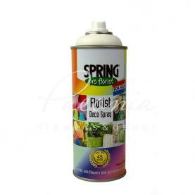 Фарба для квітів Spring біла 400 мл