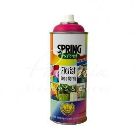 Краска для цветов Spring розовая 400 мл
