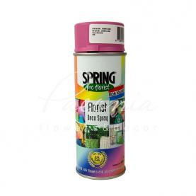 Краска для цветов Spring светло розовая 400 мл