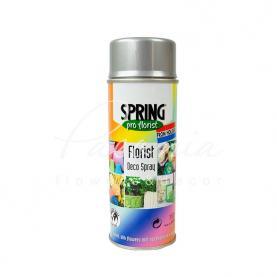 Фарба для квітів Spring срібло 400 мл