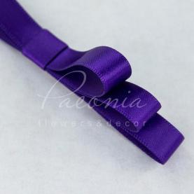 Стрічка атласна фіолетова матова 1см*23м
