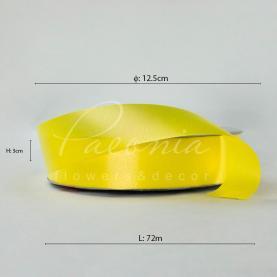Лента полипропиленовая желтая 3см*72м