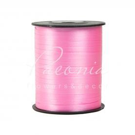 Лента полипропиленовая завязка в катушке 0,5см*280м розовая