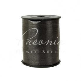 Лента полипропиленовая завязка в катушке 1 см*280м черная