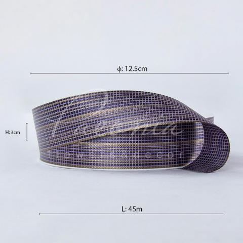 Лента полипропиленовая фиолетовая 3см*45м