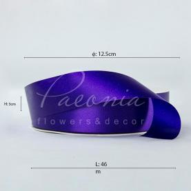 Стрічка поліпропіленова фіолетова матова 3см*46м