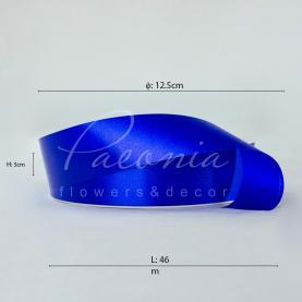 Стрічка поліпропіленова яскраво-синя матова 3см*46м