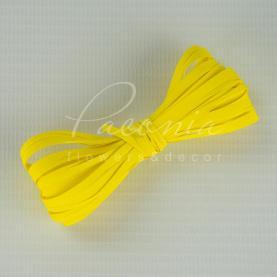 Стрічка рафія жовта 200м