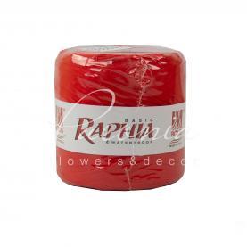 Стрічка рафія червона (200м )