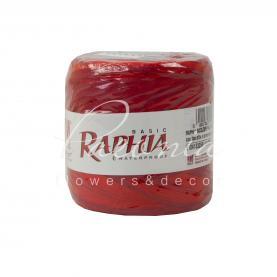Стрічка рафія красно-бордова 200 м
