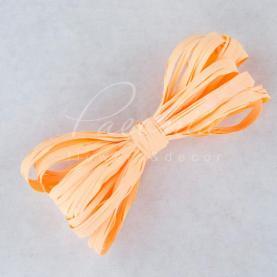 Стрічка рафія персикова 200м
